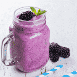 Perfectly purple fertility smoothie