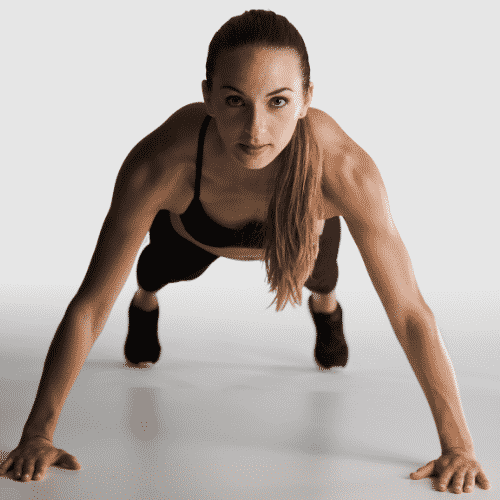 Push ups are great resistance exercises for overall strength and tone.