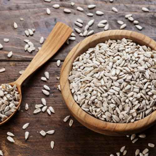 Sunflower seeds bring additional fertility benefits to this smoothie