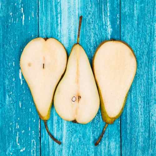 pears are an underused fruit in smoothies but they're delicious